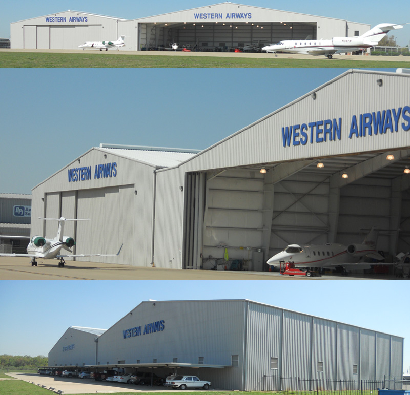 Airplane Hangar Builder Houston
