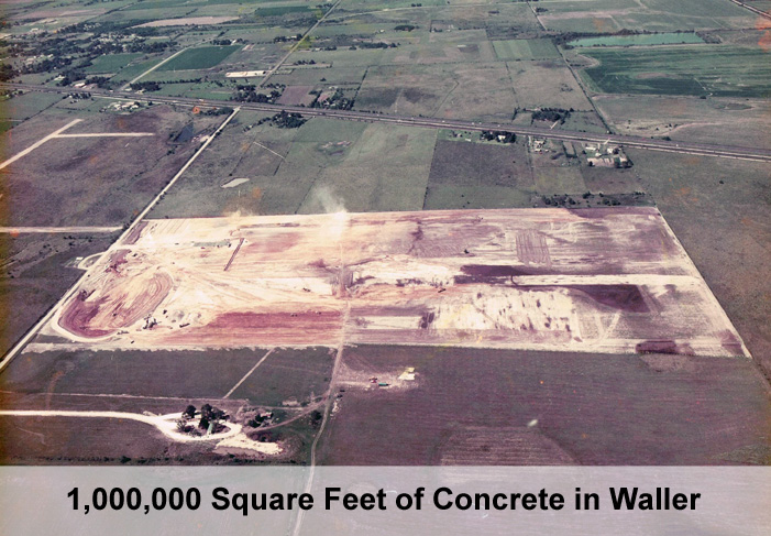 Commercial Concrete Slab Texas