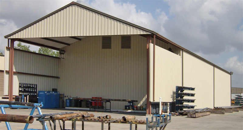 Commercial Metal Building Houston