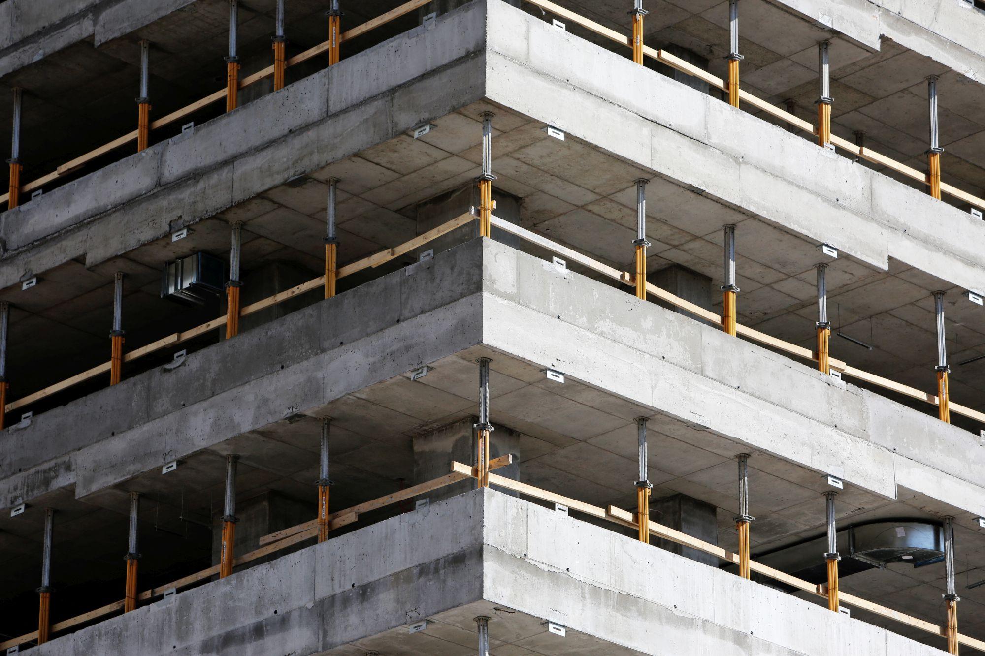 Concrete Building Frame