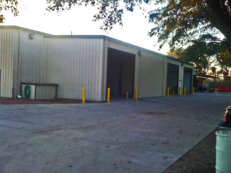 Concrete Metal Building Houston