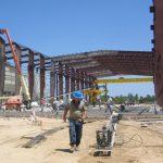 Industrial Metal Building Concrete