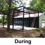 Metal Building Add On Houston