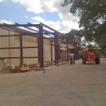 Metal Building Addition Houston
