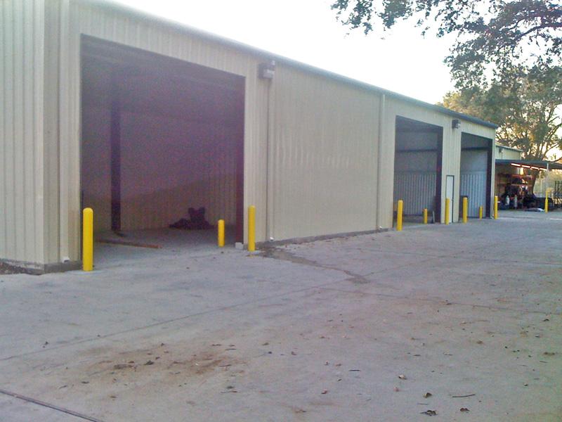 Metal Building Large Doors